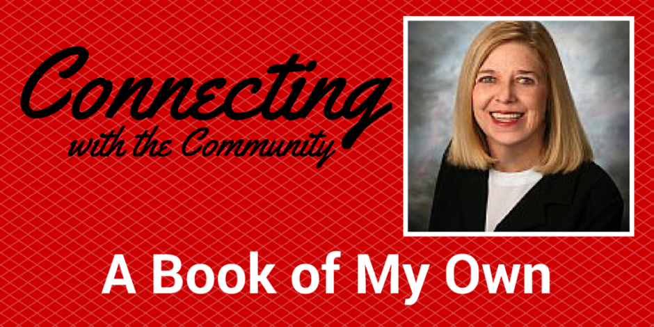 Connecting with Community - A Book of My Own - Penny Parker