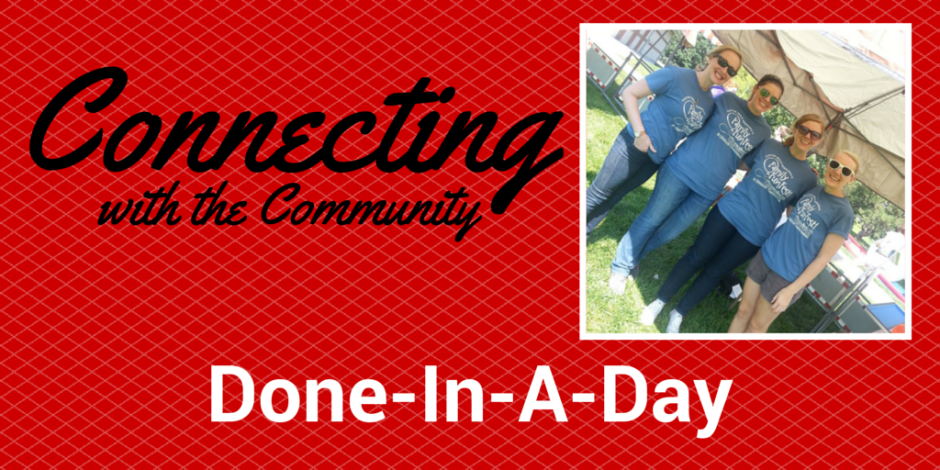 Connecting with Community - Done-In-a-dAY