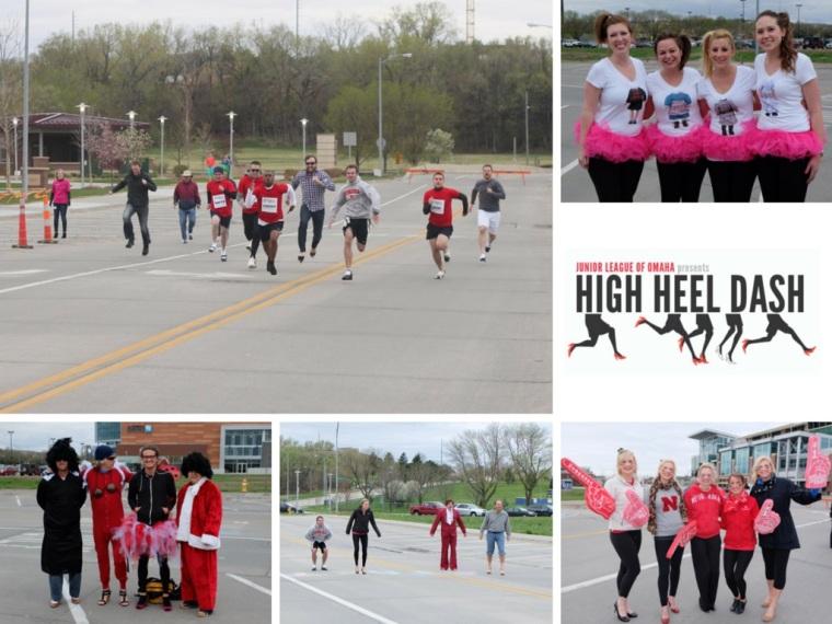 High Heel Dash Collage 2