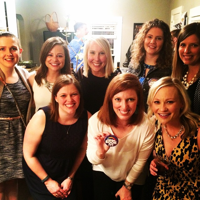 Junior League of Omaha members attend fundraising dinner for the Literacy Center