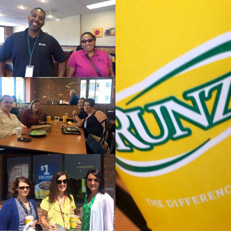 League member and Communications Chair, Melissa Hoeman Carlberg along with her several of her Nebraska Medicine colleagues supported the event by lunching at Runza that day.